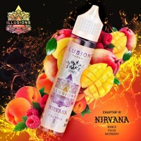 illusions Nirvana 60ml Premium Likit
