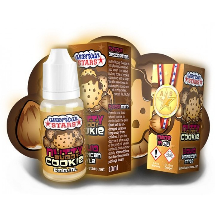 American Stars Likit Nutty Budy Cookie 30ml