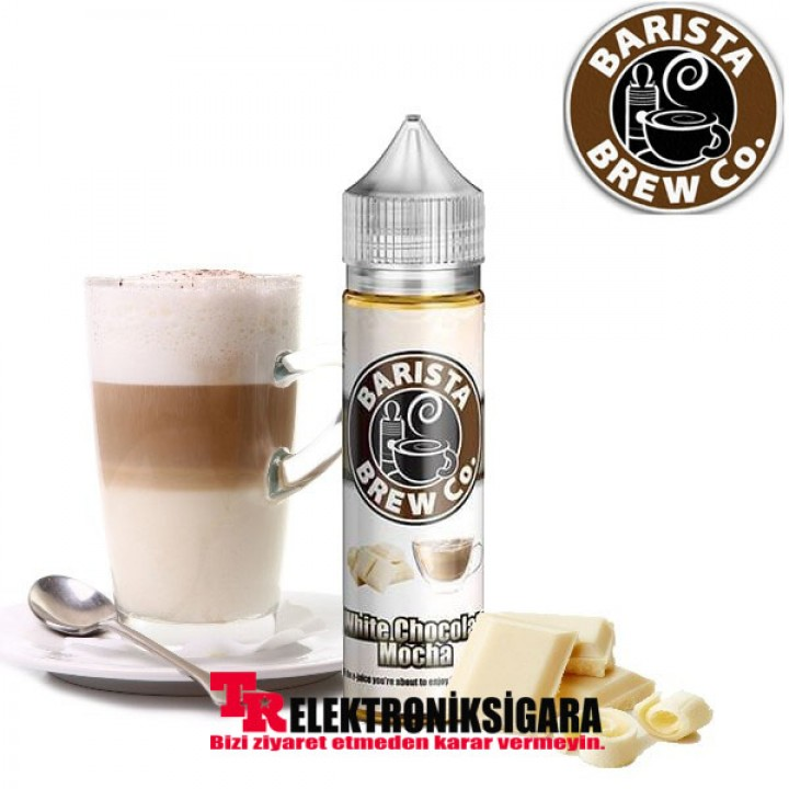 Barista Brew White Chocolate Mocha 60ML Premium Likit