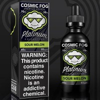 Cosmic Fog Platinum Collection SOUR MELON 60ml Premium Likit