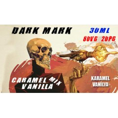 Dark Mark Likit Caramel Vanilla Mix 30ML