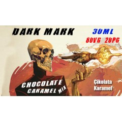 Dark Mark Likit Chocolate Caramel Mix 30ML