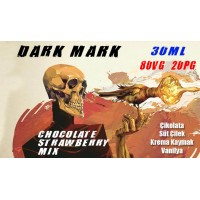 Dark Mark Likit Chocolate Strawberry Mix 30ML