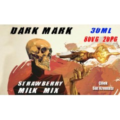 Dark Mark Likit Strawberry Milk Mix 30ML
