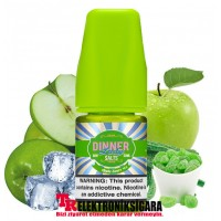 Dinner Lady Apple Sours ice 30ml Premium Salt Likit