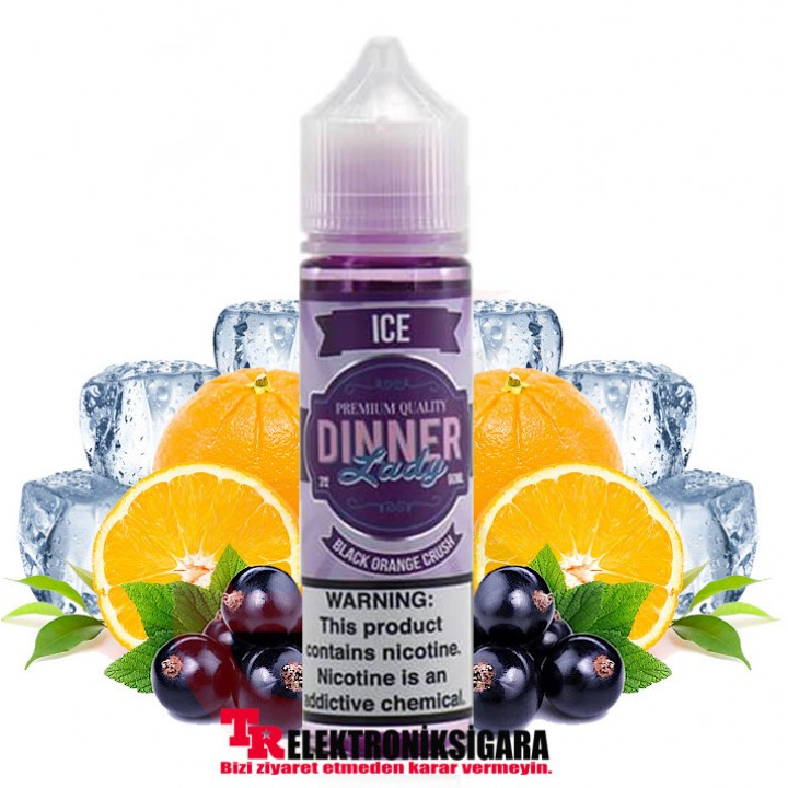 Dinner Lady Black Orange Crush ice 60ML Premium Likit