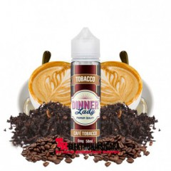 Dinner Lady Cafe Tobacco Premium Likit 60ml