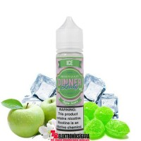 Dinner Lady Apple Sours ice 60ml Premium Likit