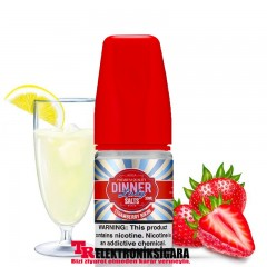 Dinner Lady Strawberry Bikini 30ml Premium Salt Likit