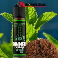 Dinner Lady Mint Tobacco After 11 Premium Likit 60ml