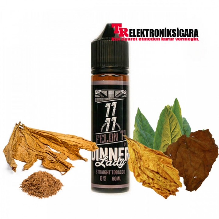 Dinner Lady Straight Tobacco Felon 11 Premium Likit 60ml