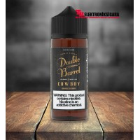 Double Barrel Cowboy Tobacco 120ml Premium Likit