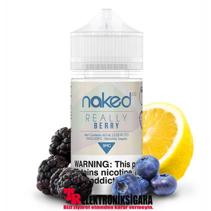 Naked Really Berry 60ml Premium Likit