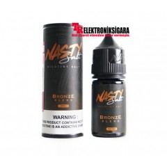 Nasty Salt Reborn Bronze Blend Premium Salt Likit 30ml