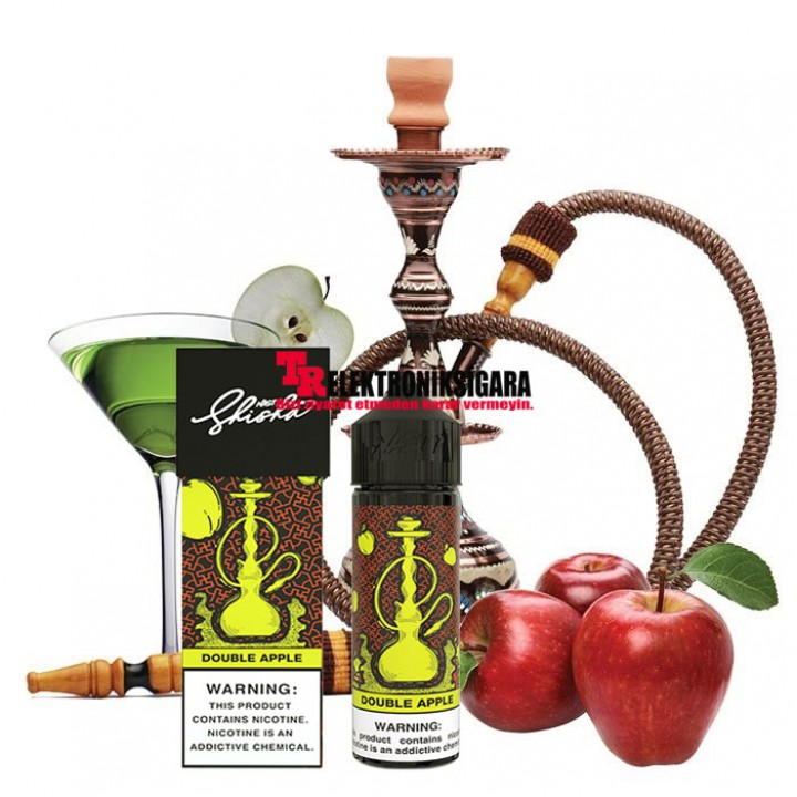 Nasty Juice Shisha Double Apple Premium Likit 60ml