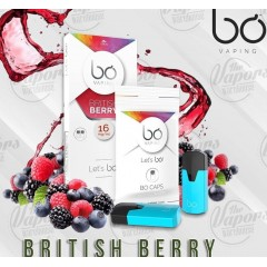 Bo Caps British Berry (Kartuş) 2'li Paket