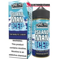 ONE HİT WONDER ISLAND MAN İCED PREMİUM SALT LİKİT 30ML